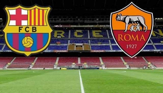 مشاهدة مباراة برشلونة وروما بث مباشر 24/11/2015