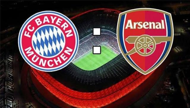 بايرن ميونخ و أرسنال – دوري أبطال أوروبا