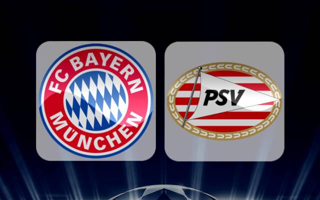 مشاهدة مباراة بايرن ميونخ وايندهوفن اليوم 1/11/2016 بث مباشر
