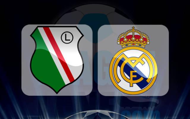 مشاهدة مباراة ريال مدريد وليجيا وارسو اليوم 18/10/2016 بث مباشر