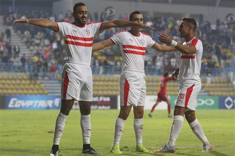مشاهدة مباراة الزمالك وبتروجيت بث مباشر بتاريخ 19-2-2018 الدوري المصري