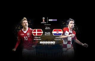 مشاهدة مباراة كرواتيا والدنمارك في كأس العالم 2018 بتاريخ 1/7/2018 ماتش لايف