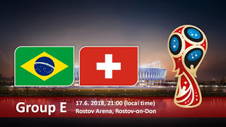 مشاهدة مباراة البرازيل و سويسرا في كأس العالم 2018 بتاريخ 17-06-2018