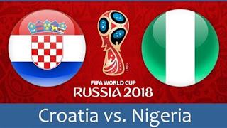 مشاهدة مباراة كرواتيا و نيجيريا في كأس العالم 2018 بتاريخ 16-06-2018