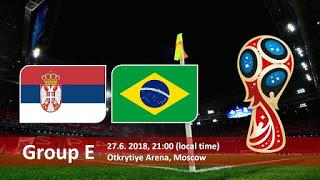 كأس العالم 2018 روسيا 2018 مباريات اليوم أهداف مباراة البرازيل و صربيا في كأس العالم 2018