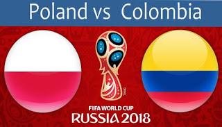 كأس العالم 2018 روسيا 2018 مباريات اليوم أهداف مباراة بولندا و كولومبيا في كأس العالم 2018