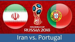 كاس العالم 2018 روسيا 2018 مبارايات اليوم أهداف مباراة البرتغال و إيران في كأس العالم 2018