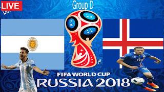 مشاهدة مباراة الأرجنتين و آيسلندا في كأس العالم 2018 بتاريخ 16-06-2018