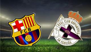 مشاهدة مباراة برشلونة و ديبورتيفو لاكورونا الدوري الإسباني 29-04-2018