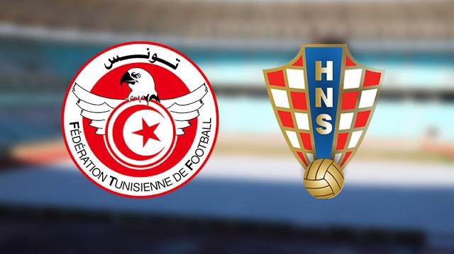 تونس وكرواتيا اليوم