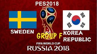 مشاهدة مباراة السويد و كوريا الجنوبية في كأس العالم 2018 بتاريخ 18-06-2018