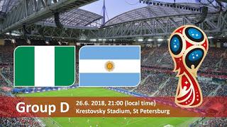 روسيا 2018 كأس العالم 2018 ماتش لايف مباريات اليوم أهداف مباراة الأرجنتين و نيجيريا في كأس العالم 2018