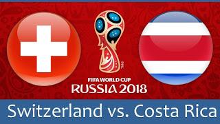 كأس العالم 2018 روسيا 2018 مبارايات اليوم أهداف مباراة سويسرا و كوستاريكا في كأس العالم 2018